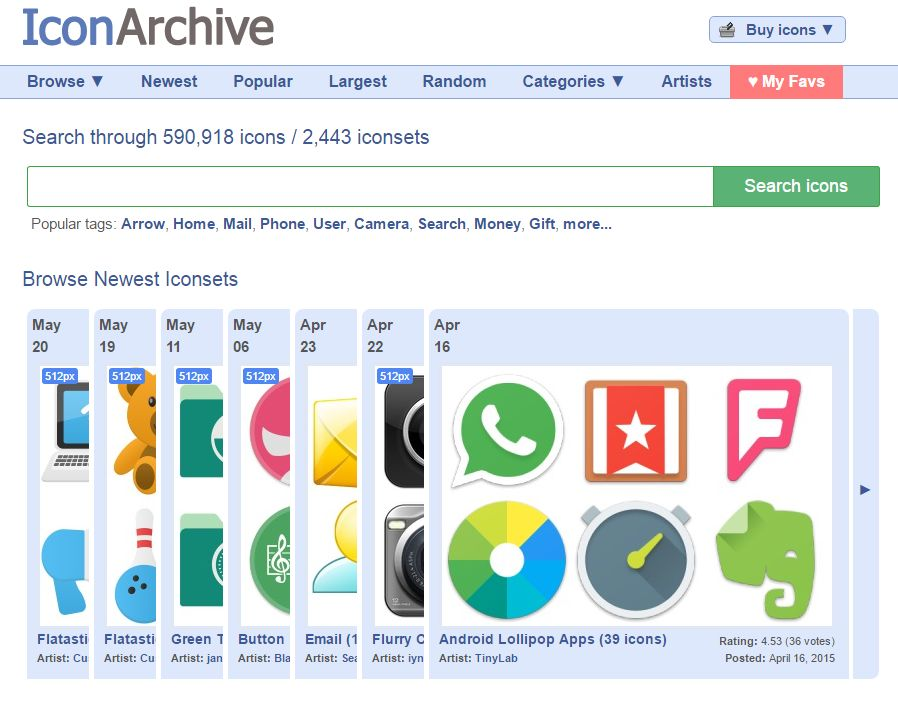 Icon archive search 590,918 free icons, desktop icons, download.